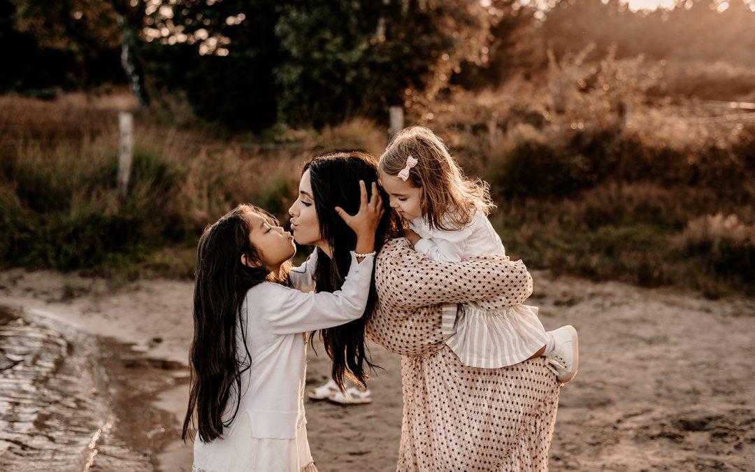 Kathy + dochters